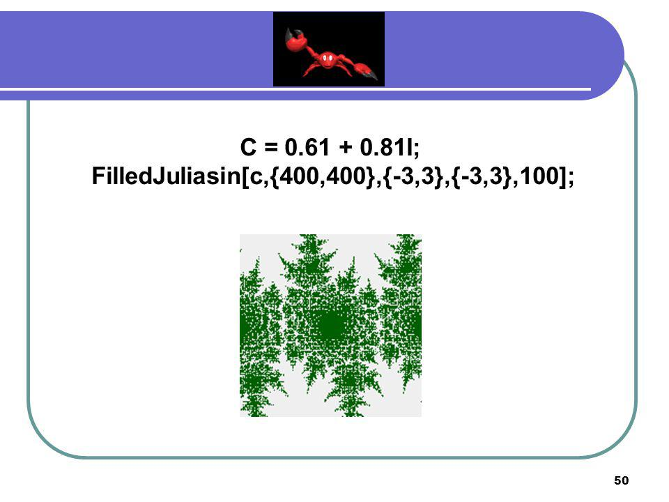 FilledJuliasin[c,{400,400},{-3,3},{-3,3},100];
